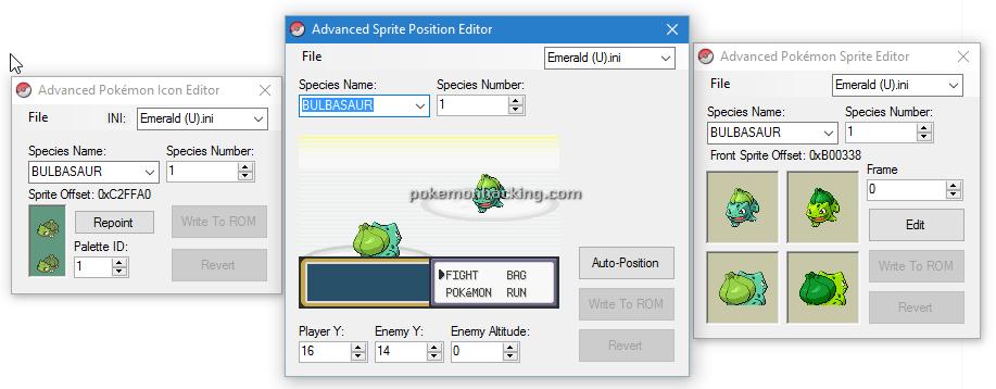 Advance Series Screenshots