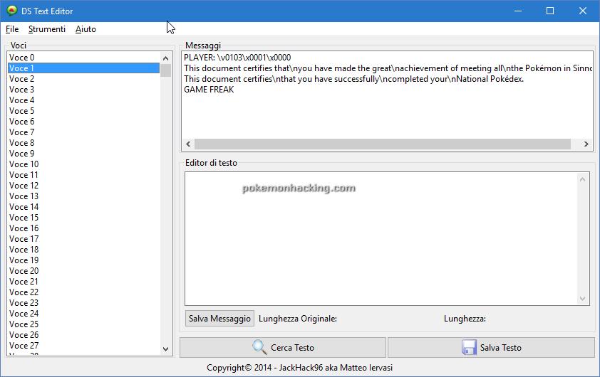 DS Text Editor Screenshots 1