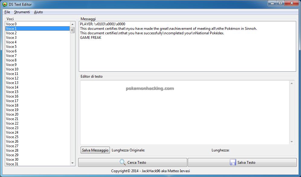 DS Text Editor Screenshots 3