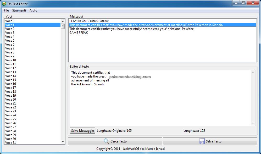 DS Text Editor Screenshots 4