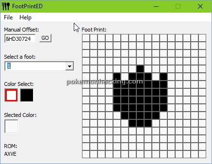 Foot Print Editor Screenshots