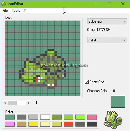 IconEditor Screenshots