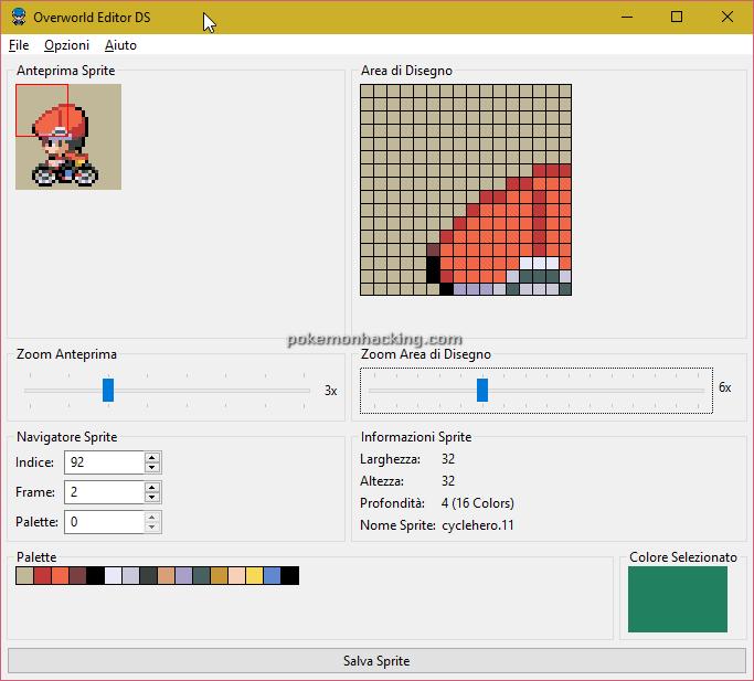 Overworld Editor DS Screenshots