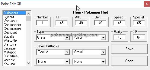 Poke Edit Screenshots