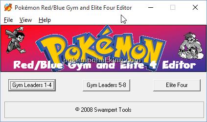 RB Gym & E4 Editor Screenshots