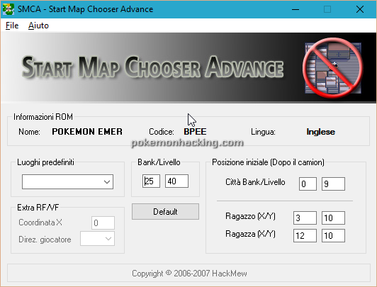 Start Map Chooser Advance Screenshots